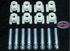60-90 GM Headlight Head Light Lamp Adjuster Adjusting Screw Bolt & Nut 8pcs F