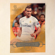 GARETH BALE BB-GB Best of the Best  #/10 made 2016 Topps UEFA Champions 5X7 GOLD