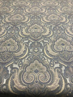 Ritz Natural Damask Italian Cut Upholstery Fabric by the yard