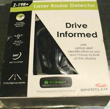 New Whistler Z-19R+ High Performance Bilingual Radar Laser Detector