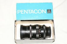 Pentacon (Orestor) 135mm f2.8 Telephoto Lens  15 Blade Iris  Boxed & Excellent