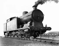 1951 BR British Rail FELL Diesel Locomotive No.10100 2-D-2 Train 20-Stamp Sheet