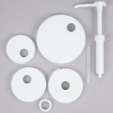 Pkt-6 condiment Pump Kit with Standard Pump and 5 Lids