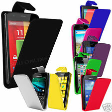 Clearance - Premium Soft PU Leather Flip Case Cover For HTC Wildfire S G13