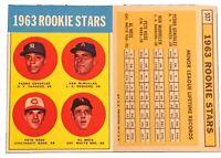 1963 Topps #537 PETE ROSE Rookie Baseball Card RC REPRINT Cincinnati Reds - HOF?