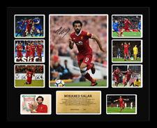 New Mohamed Mo Salah Signed Liverpool Limited Edition Memorabilia Framed