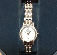 Citizen Eco-Drive Womens b023-s083338 Silver-Tone Dial and Bracelet Watch