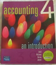ACCOUNTING 4 an introduction, Atrill McLaney Harvey Jenner