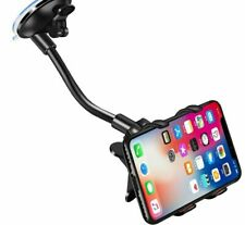 Car Phone Holder Flexible 360 Degree Rotation Mobile Smartphone Mount Stand