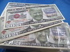 WHOLESALE LOT OF 500 TRUMP 2020 REPUBLICAN PRESIDENT NOVELTY MONEY KEEP USA