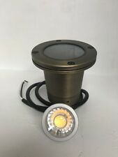 LED Low Voltage Solid brass well light- Outdoor Landscape Lighting W/MR16 Bulb