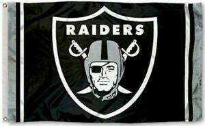 Raiders FLAG 3X5 Las Vegas Raider Banner American Football Fast USA Shipping New