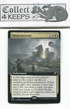 Doom Foretold Extended Art Non-Foil Theros Beyond Death Rare Near Mint