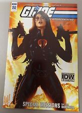 G.I.Joe 252 ~ Adam Hughes ~ Exclusive Convention Variant Baroness 2018
