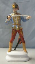 "Herend HADIK HUSSAR Soldier with Sword 9"" Tall"