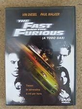 DVD,The Fast And The Furious.Vin Diesel-Paul Walker