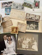 Big Box of Vintage Ephemera Photos Postcards Booklets Various Paper 200 Items