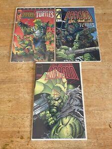 Image comic book lot Savage Dragon 1 & Tmnt Lot Teenage Mutant Ninja Turtles 1,2