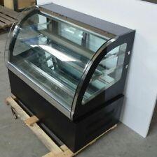 Top Grade Countertop Refrigerated Cake Pie Showcase Display Case 220V 3-Layer
