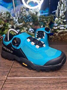 Specialized Rime 2.0 Mountain Bike Shoe Aqua 38.5 Euro 6 US 5 UK Men Size NWOB