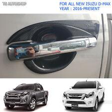 Fit Isuzu D-Max Holden 1.9L 2016 17 4Door Carbon Bowl Handle Insert Cover