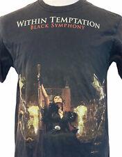 Within Temptation Black Symphony Mens Medium Black T Shirt