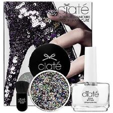 Ciate Sequin Manicure Sequined Set Black Silver Harlequin Nail Polish Sephora