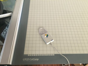 GTCO Calcomp Roll UP 30 x 36 Inch Digitizer Configured For PAD SYSTEM