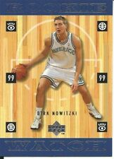 Dirk Nowitzki 1998-99 Upper Deck #320 Rookie Card