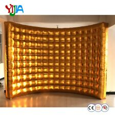 Inflatable Photo Booth Wall Background Backdrop Frame for Event and Exhibition