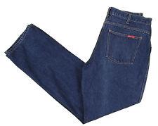 Dickies Jeans 34x33 Regular Fit Straight Dark Wash Cotton Denim 5 Pockets Zipper