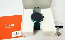 Fossil Men's Sport Metal and Silicone Touchscreen Smartwatch FTW4035