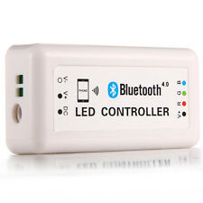 Wireless Bluetooth RGB LED Strip DC12V-24V Controller for iOS iPhone Android New