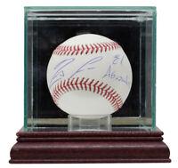 Ronald Acuna Jr. Signed Atlanta Braves MLB Baseball w/Case El Abusador JSA