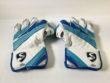 New Genuine Sg Hilite Cricket Wicket Keeping Gloves Mens Size