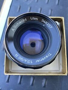 A.Schacht 90mm 1:2 8/90 R Travenar #348257