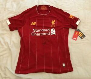 Virgil van Dijk Signed Liverpool Football Club Shirt with COA