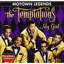 THE TEMPTATIONS: My Girl- Motown Legends - NEW Sealed CD