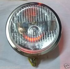 """6"""" H3 halogen  Auxiliary light for cars Chrome plated"""