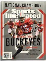 Ezekiel Elliott signed sports illustrated si magazine ohio state national champs