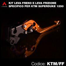 Kit leva frizione e leva freno arancione per KTM Superduke 1290 R 2014-2015