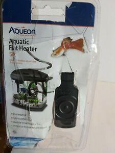 Aqueon Aquatic Fish Aquarium Submersible Flat Heater 5 Watts 5W