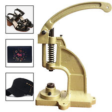 DK98 Hand Press Machine for DIY Eyelet Hole Punch Kam Snaps Buttons Installation