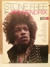 Stone Free A Tribute to Jimi Hendrix Music song Book-Hal Leonard-guitar Bass