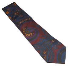 Polo Ralph Lauren Purple Label Mens Blue Green Red Paisley Silk Tie Italy