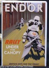 """Forest Moon of Endor 2"""" X 3"""" Fridge Magnet. Star Wars Storm Trooper"""