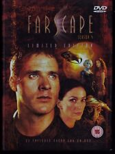 FARSCAPE season 4 LIMITED EDITION. UK Region 2. Languages: English (en inglés)