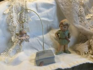 Memories of Yesterday  PETER PAN & TINKERBELL on Book - Charming & Rare