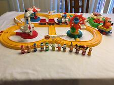 Vintage 1986 Disneyland Mickey Mouse Playmates Train Play Set #1379