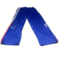 AUTHENTIC ADIDAS NBA Game Worn Lou Williams PHILADELPHIA 76ERS WARM-UP PANTS